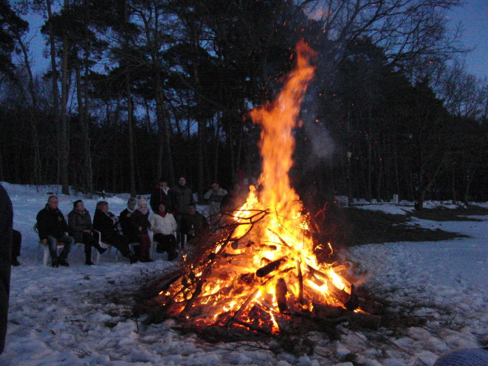 Osterfeuer 31.03.2013